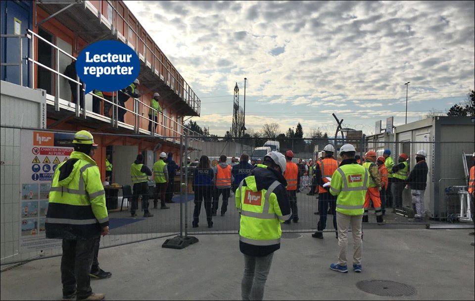Genebra: Trabalhadores contestam medidas contra a pandemia e a polícia teve que intervir