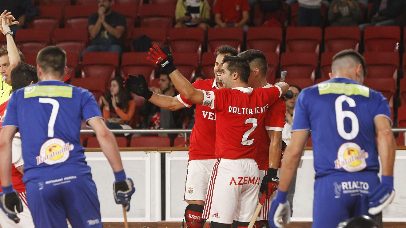 Hóquei em patins: Benfica com jogo importante na Suíça