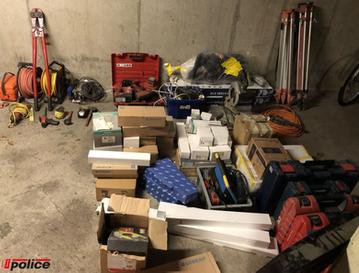 Homem detido por furto em estaleiro de obras