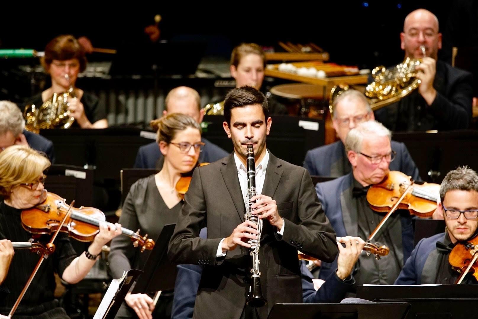 Clarinetista português em destaque na Suíça