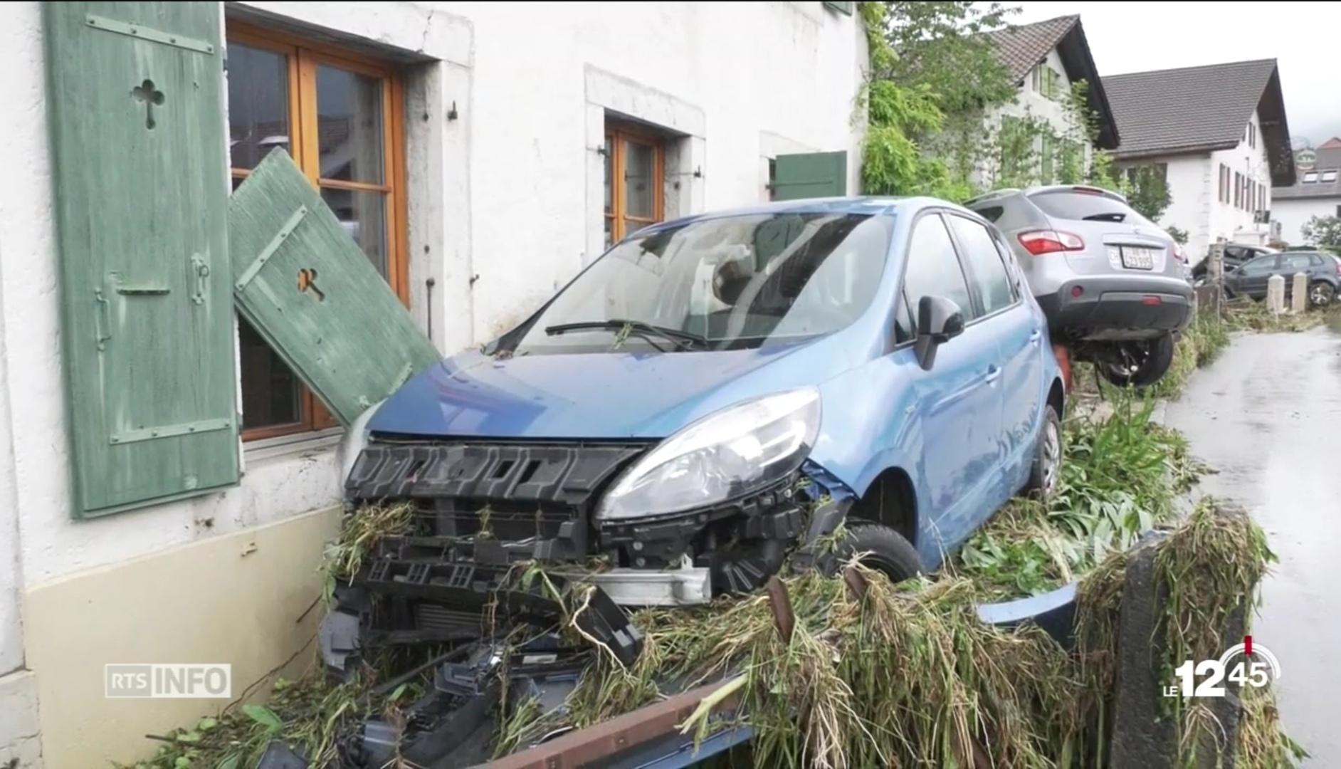 Catástrofe natural em Val-de-Ruz
