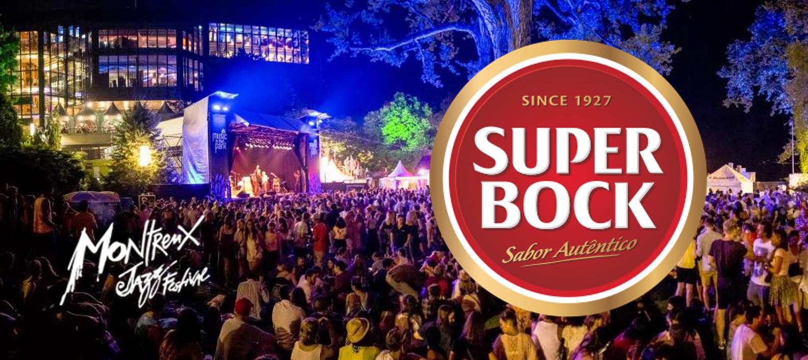 Super Bock é a cerveja oficial do Montreux Jazz Festival