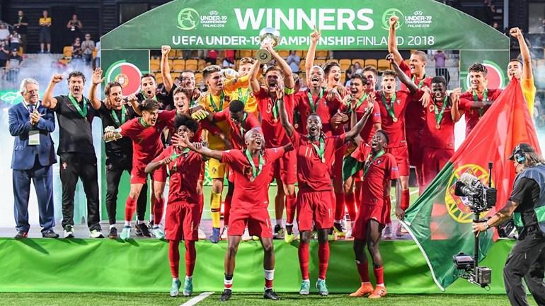 Nuno Pina é campeão da Europa com a seleção portuguesa