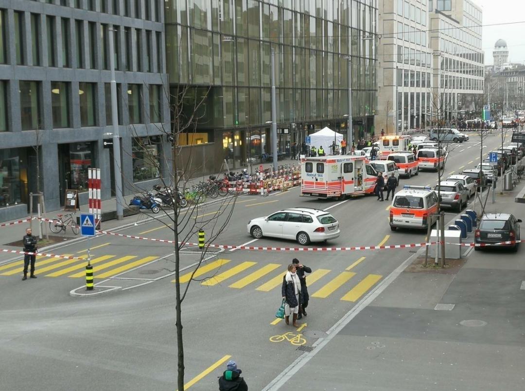 Duas pessoas mortas a tiro em Zurique