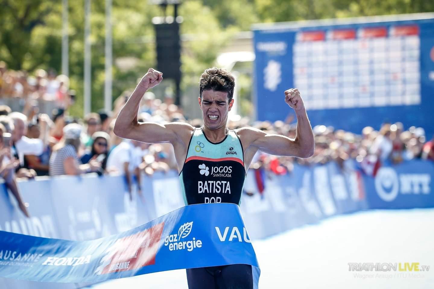 Ricardo Batista conquistou título mundial de triatlo em juniores