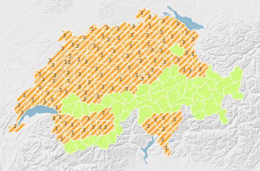 Alerta canícula na Suíça