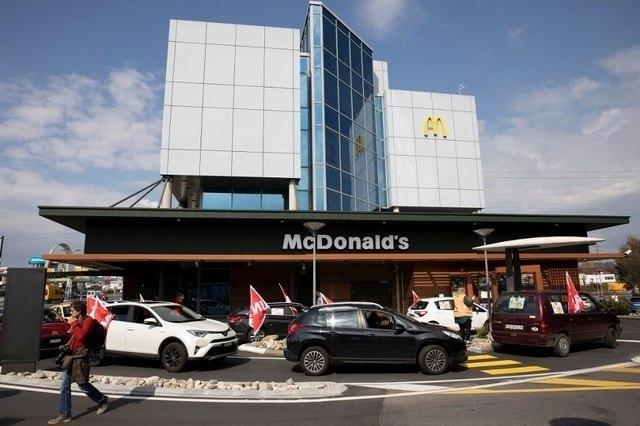 Restaurantes McDonald's fecham temporariamente