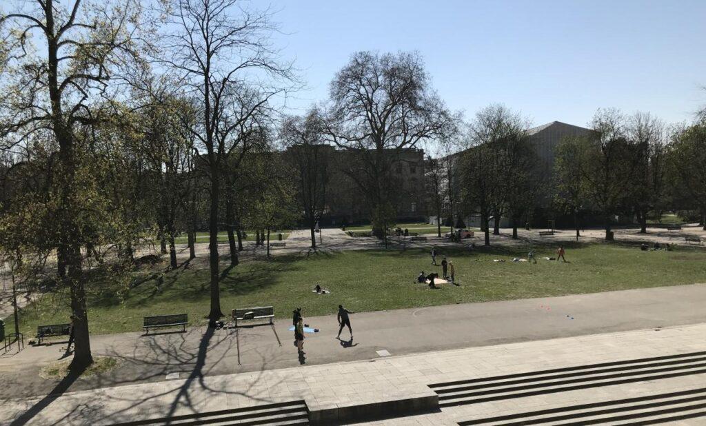Parque des Bastions