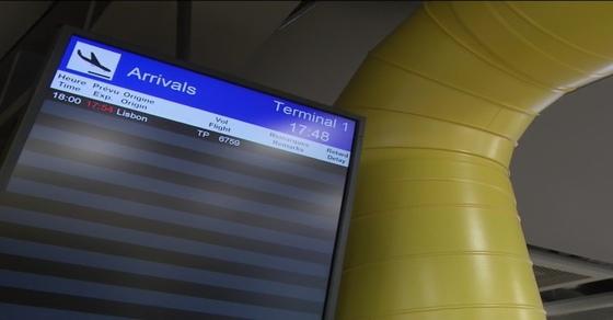 Uma só chegada prevista no final da tarde em Genebra,