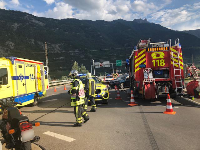 Portuguesa ferida em acidente de viação