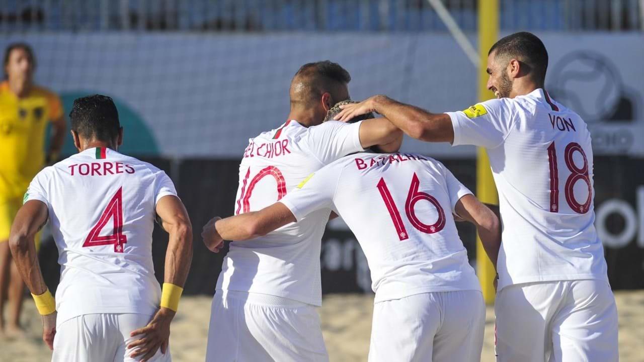 Futebol de praia: Portugal vence Suíça (5-4) e é bicampeão europeu