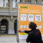 Covid-19: Suíça regista recorde de 2.823 novos casos em 24 horas
