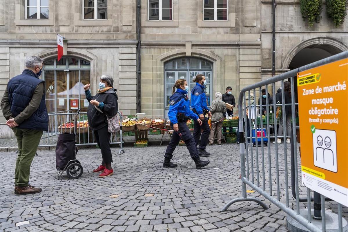 Covid-19: Suíça regista 5.980 novos casos e 107 óbitos em 24 horas