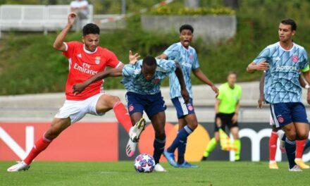 Benfica vence Ajax (3-0) e apura-se para a final da UEFA Youth League