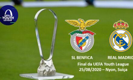 Benfica-Real Madrid: Siga em direto e ao minuto todas as incidências