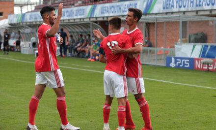 Benfica vence e está nas meias-finais da UEFA Youth League em Nyon