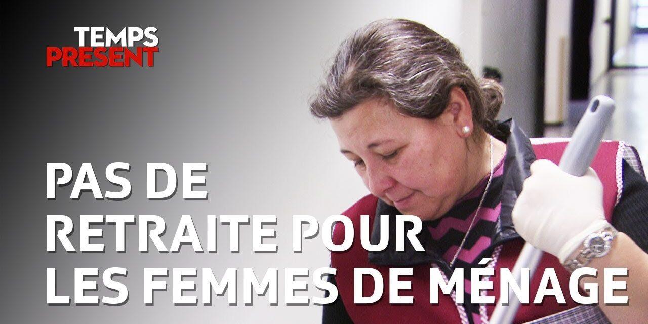 A reforma das mulheres de limpeza portuguesas na Suíça
