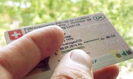 Trocar carta de condução portuguesa por suíça