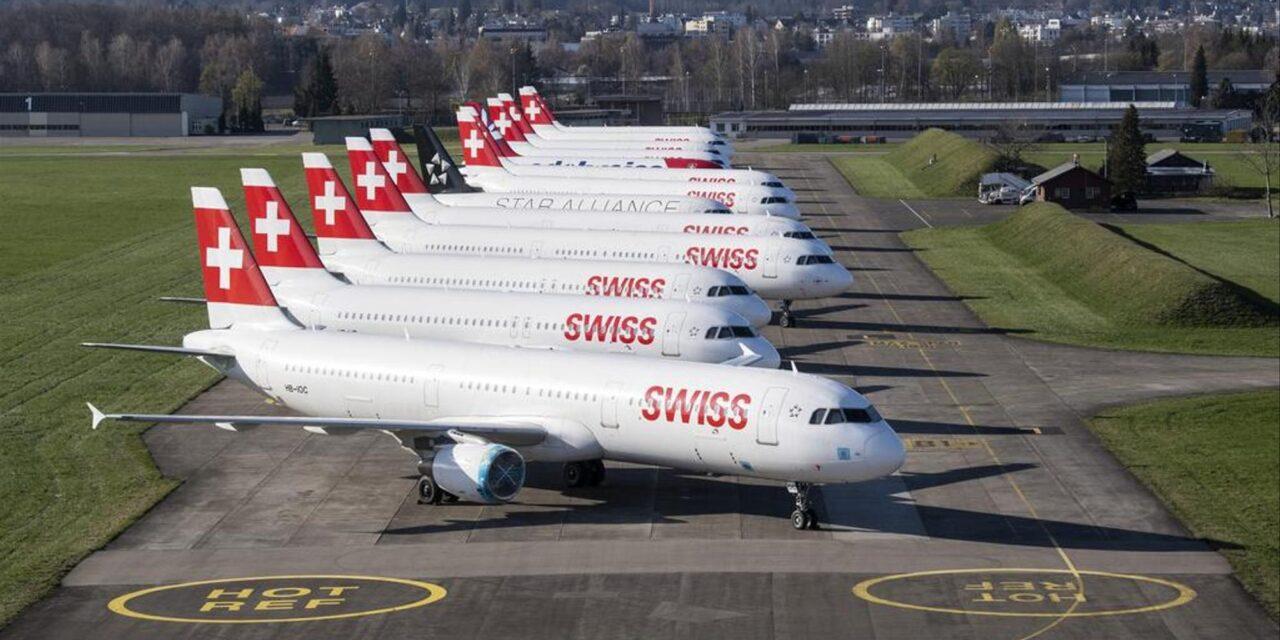 Economia: Swiss anuncia prejuízo de CHF 654 milhões em 2020