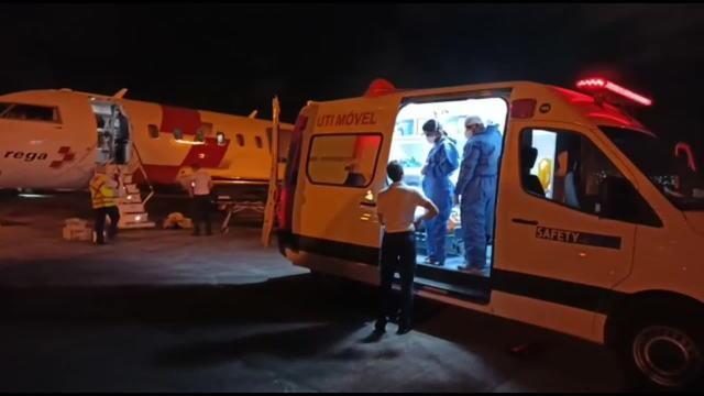 Brasil: Idoso transferido para a Suíça após contrair Covid-19