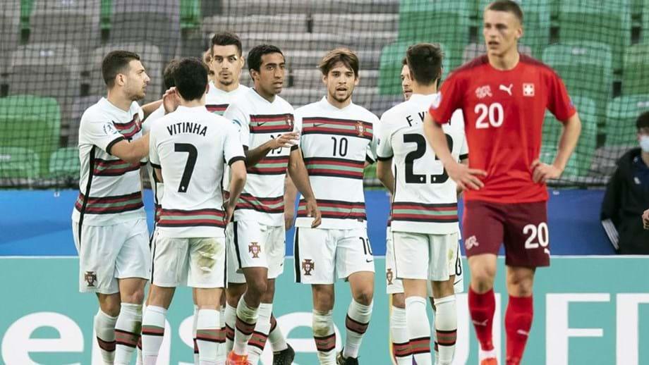 Futebol: Portugal vence Suíça e está nos quartos de final do Europeu de sub-21