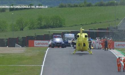 Moto3: luso-suíço Jason Dupasquier evacuado de helicóptero após grave acidente