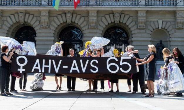 Suíça: idade da reforma das mulheres sobe para 65 anos